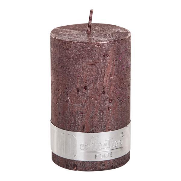 PTMD Metallic Shades Pillar Candle (8x5cm) Small Bronze