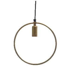Circular Brass Iron Hanging Lamp