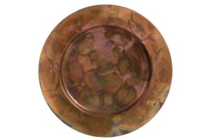 Decorative Copper Antique Plate
