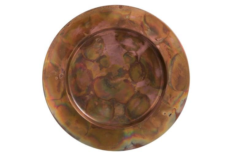 Decorative Copper Antique Plate