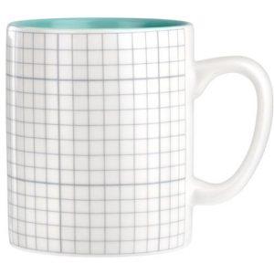 Graph Paper Porcelain Mug
