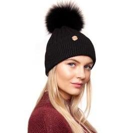 Harley Pom Pom Hat Black