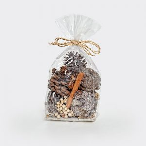 Frosted Pine Cones Potpourri with Cinnamon Fragrance