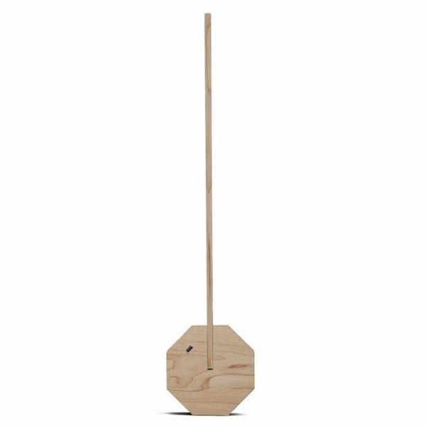 Octagon One Desk Lamp Maple