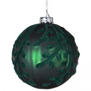 Christmas Dark Green Bauble