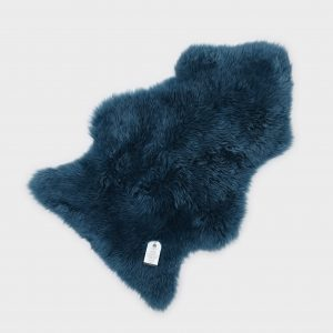 Silky Sheepskin Turquoise