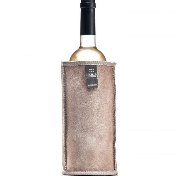 Natural Sheepskin Wine Cooler Beige