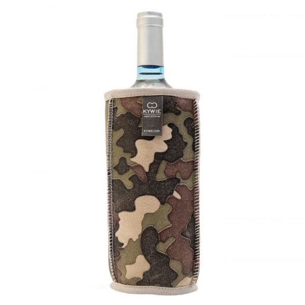 Natural Sheepskin Wine Cooler Camouflage