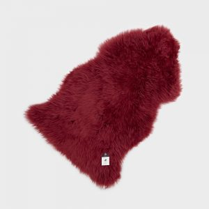 Silky Sheepskin Raspberry
