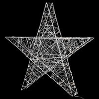 Silver Light up Star