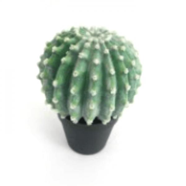 Faux Cactus in Pot