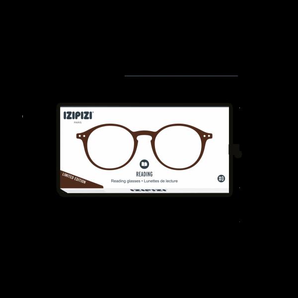 Izipizi #D  Reading Glasses(Spectacles)Dark Wood