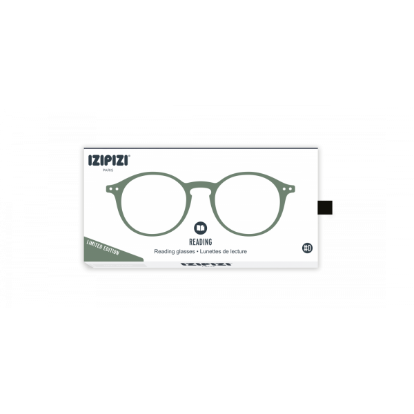 Izipizi #D Reading Glasses (Spectacles) in Green Moss