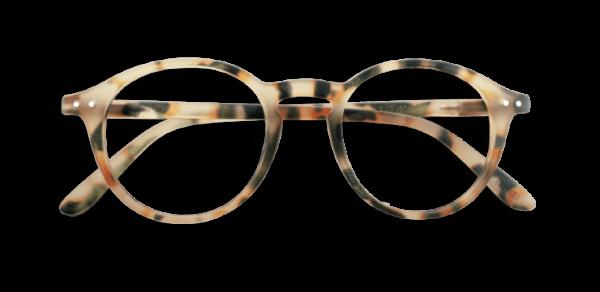 Izipizi #D Reading Glasses (Spectacles) Light Tortoise