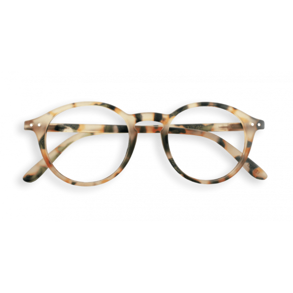 Izipizi #D Reading Glasses(Spectacles)Light Tortoise