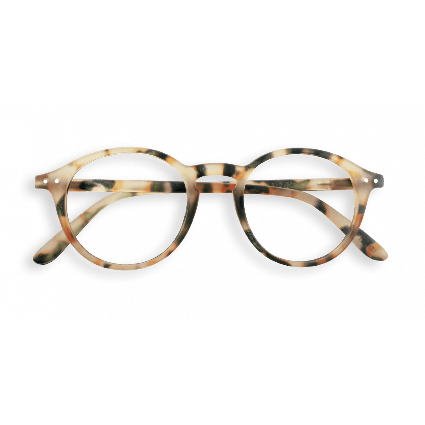 Izipizi #D Reading Glasses(Spectacles)Light Tortoise