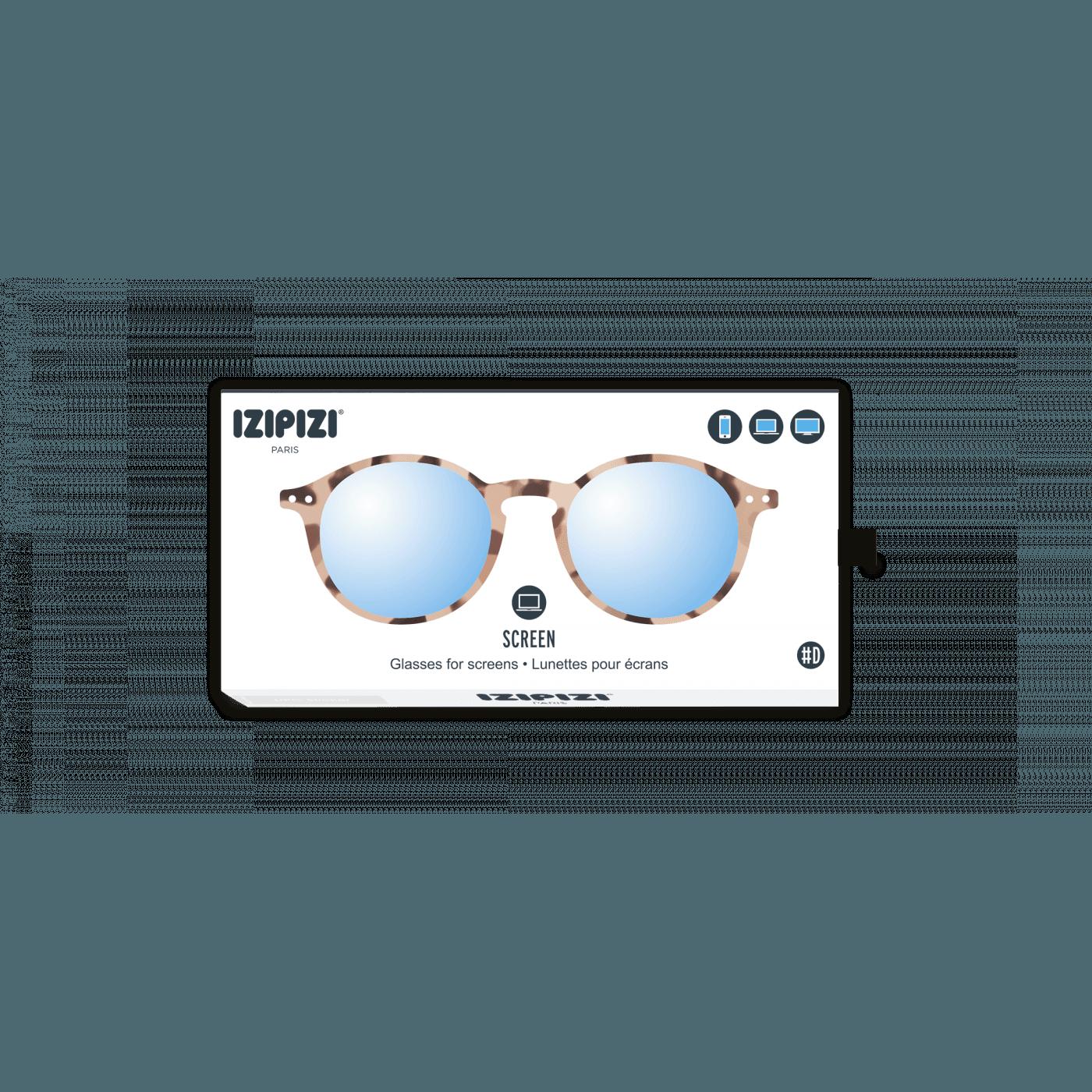 a5132ccd42b289 Izipizi  D Screen Glasses Light Tortoise - Collective Home Store