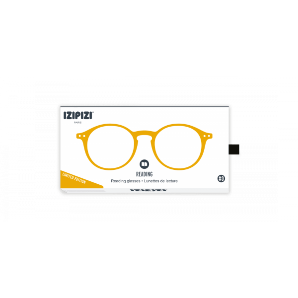 Izipizi #D Reading Glasses (Spectacles) Yellow Ochre