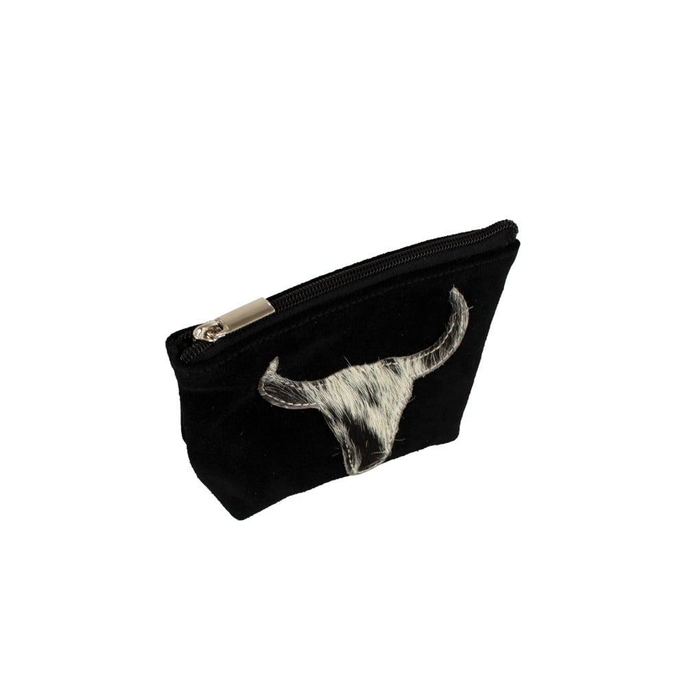 Bull Head Make Up Bag Black