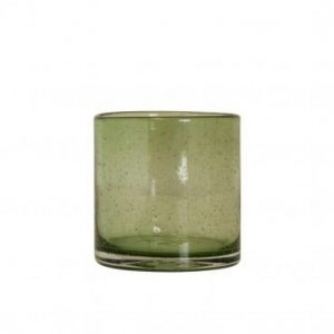 Bubbles Tea Light Holder Jade Small