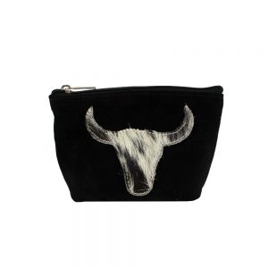 Bull Head Make Up Bag Black