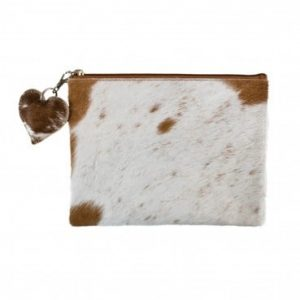 Cow Brown Pouch