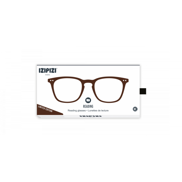 Izipizi #E  Reading Glasses(Spectacles)Dark Wood