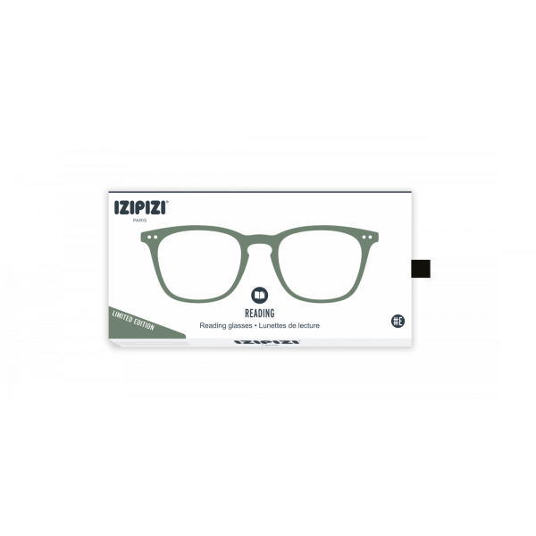 Izipizi #E Reading Glasses (Spectacles) in Green Moss