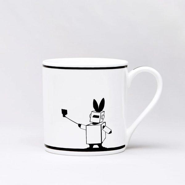 Fancy Dress Rabbit Mug
