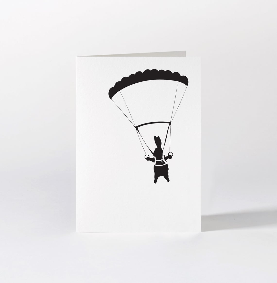 Parachute Rabbit Card