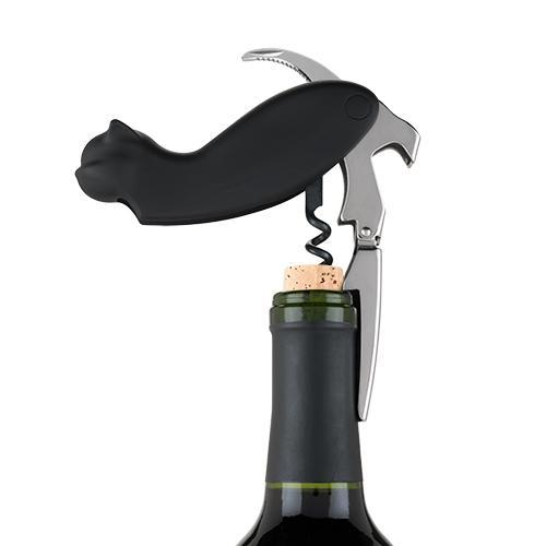 True Zoo Allie Cat Double Hinged Corkscrew