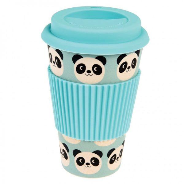 Panda Bamboo Travel Mug