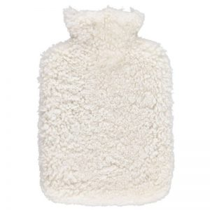Pearl Curly Short wool Hot Water Bottle