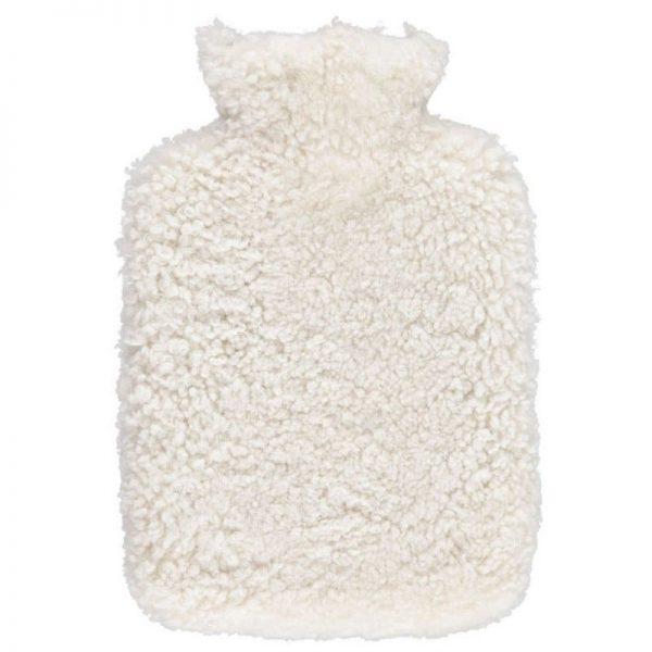 Pearl Curly Short wool Hot Water Bottle