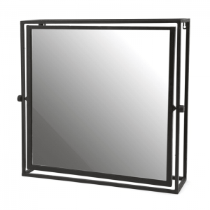 Metal Mirror Square Framed
