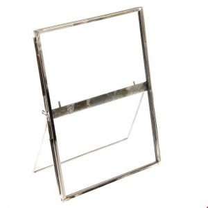 Silver Standing Gallery Style Photo Frame 18x13cm