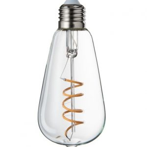 LED E27 Transparent Spiral Bulb