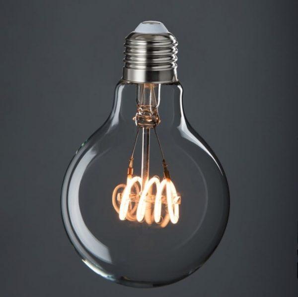 LED E27 Transparent Quad Loop Bulb