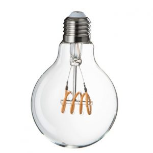 LED E27 Transparent Quad Loop Bulb