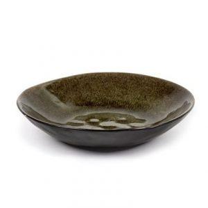 Grey Glazed Earthenware Bowl