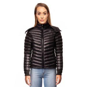 Bassik Short Ultra Light Luxury Padded Jacket Black Small