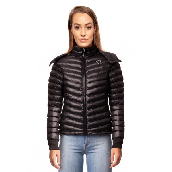 Bassik Short Ultra Light Luxury Padded Jacket Black Small