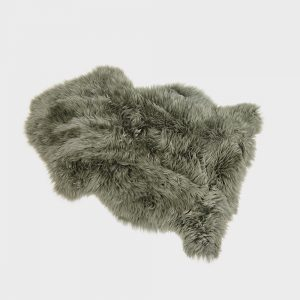 Silky Sheepskin Forest Green