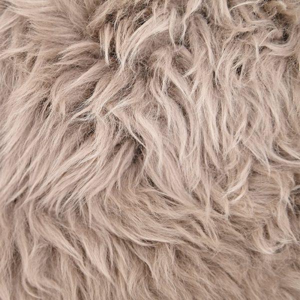 Silky Sheepskin Taupe