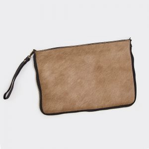 Taupe Hide 2 Way Bag Large
