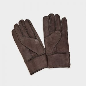 Sheepskin Gloves for Men Medium