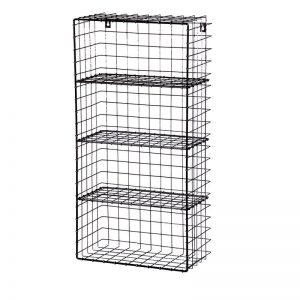 Metal Wire Industrial Wall Rack