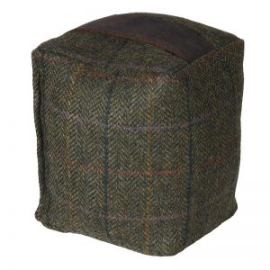 Rustic Tweed Door Stop
