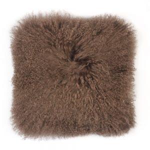 Tibetan Sheepskin Cushion Portobello