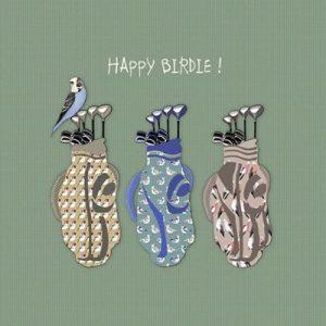 Birthday Card Happy Birdie